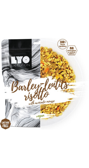 Lyofood Barley-Lentils Risotto with Avocado Mousse Big Pack 112g